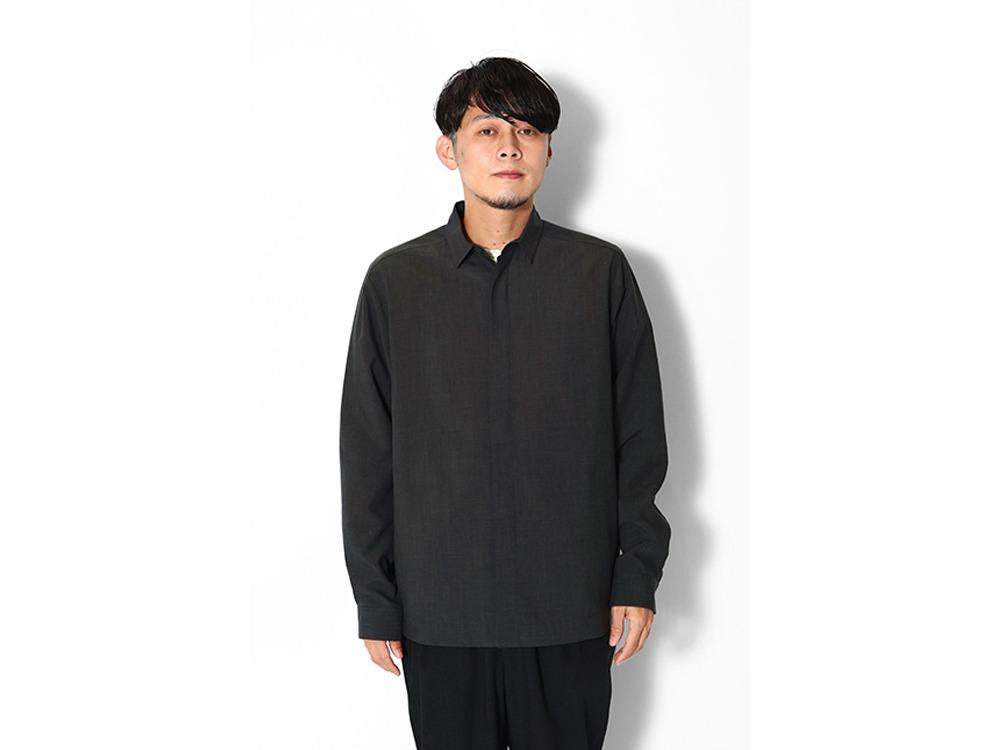 WR Pe/Wo Shirt M Darkbrown
