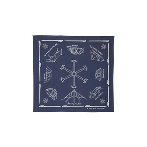 Cotton NOASOBI Bandana One Navy