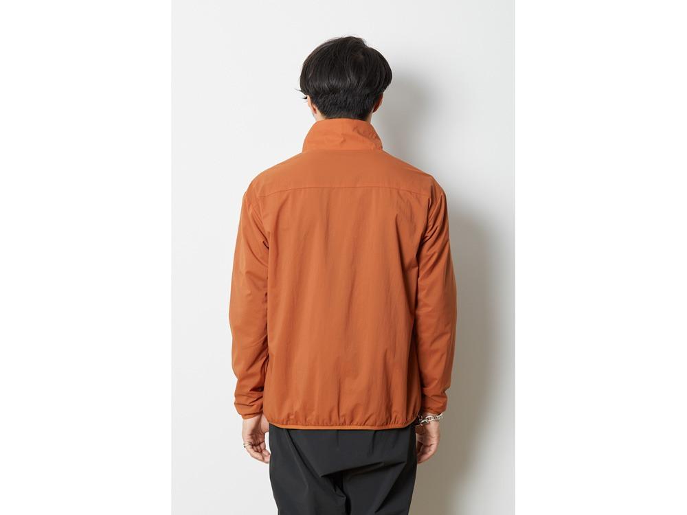 2レイヤーオクタ プルオーバージャケット M  オレンジ