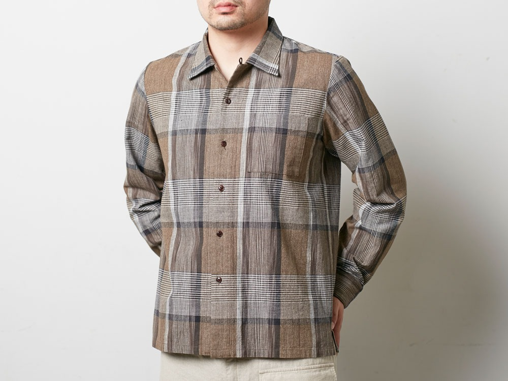 KASURI Shirt XXL Brown4
