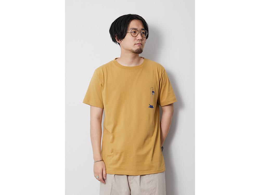 Printed Tshirt Pile Driver M Mustard