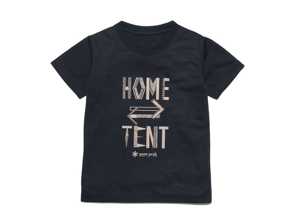 Kid's Printed Tshirt:HomeTent 4 Navy0