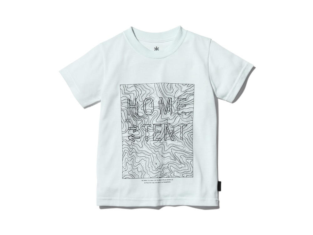 Kid'sQuickDryTshirt/Contour 3 White0
