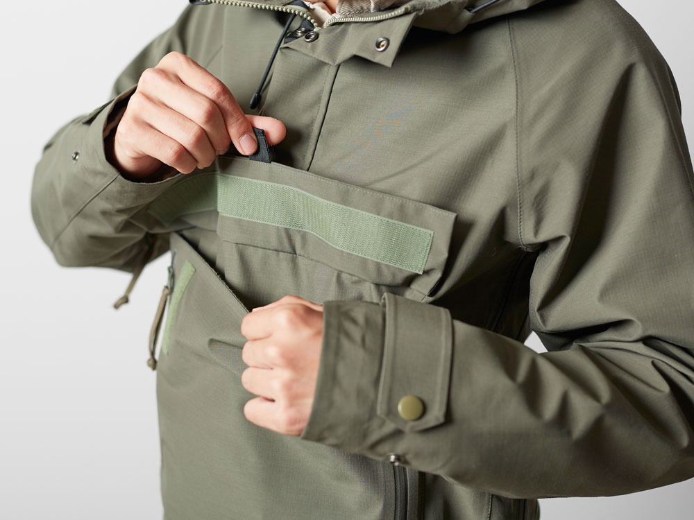 FR Rain Pullover M Olive6