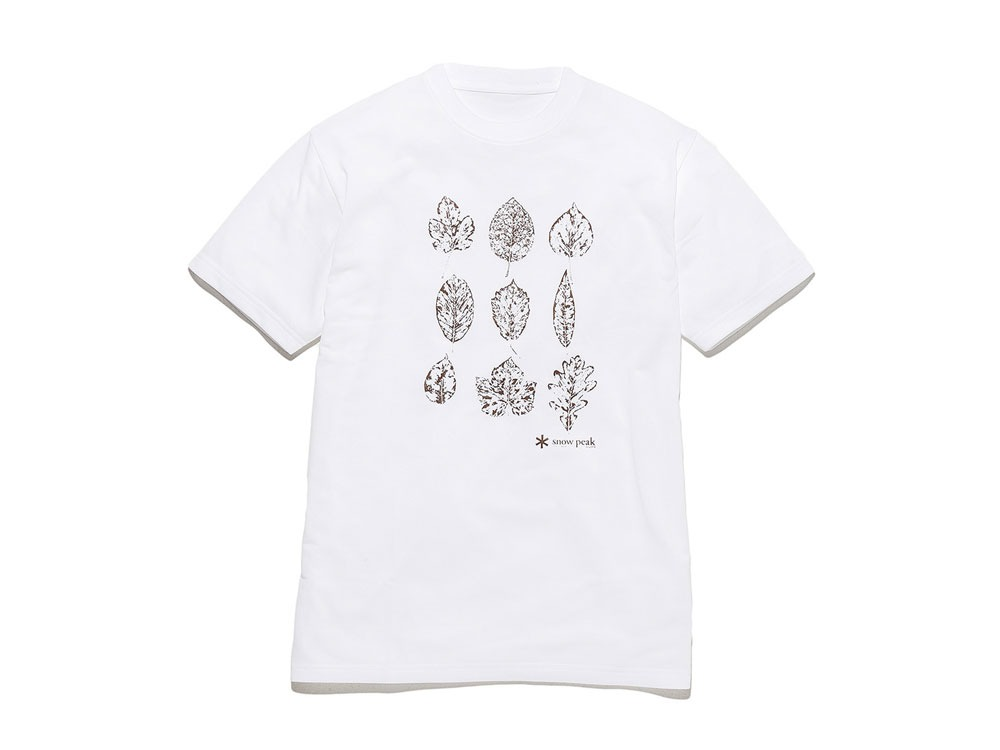 Kid's Printed Tshirt:Greenleaf 2 White0