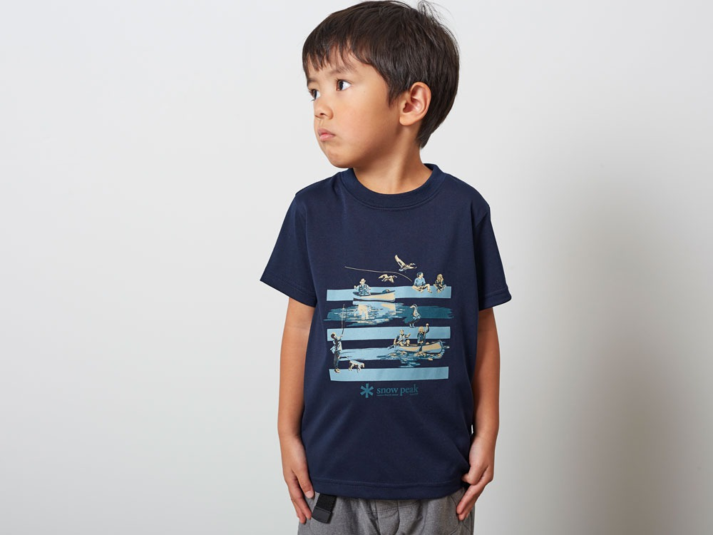 Kid'sQuickDryTshirt/Field3 Navy7