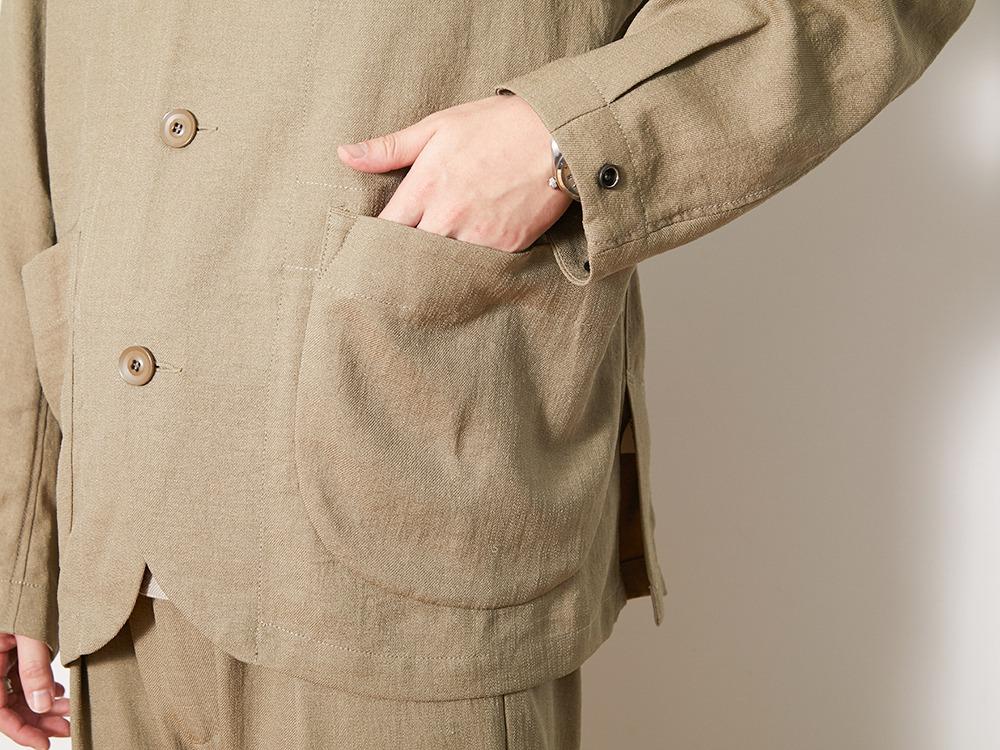 DWR Pe Twill Jacket 1 Beige