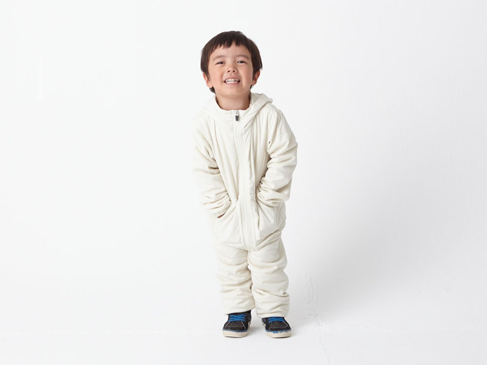 Kids Flexible Insulated Hoodie 1 White4
