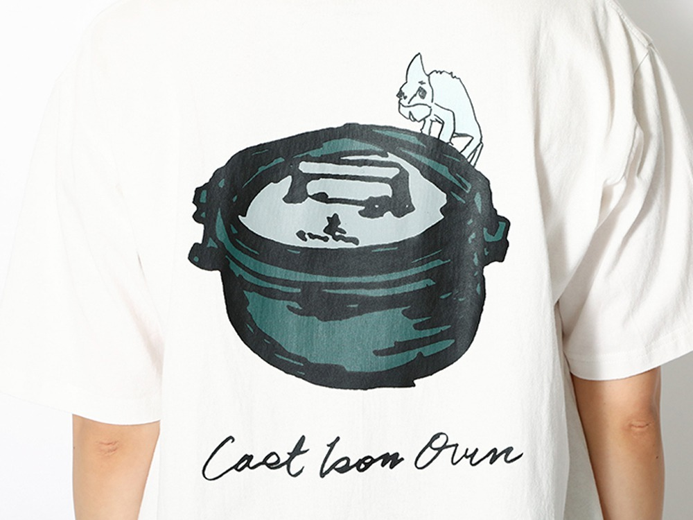 Kids Printed T Cast Iron Oven 1 WH