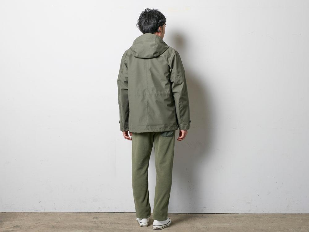 FR Rain Jacket M Olive3