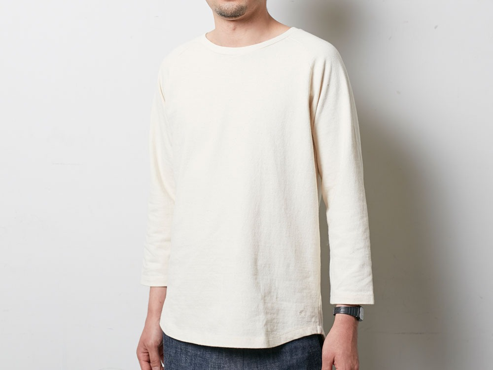 Organic Heavy Weight Raglan S Ecru4