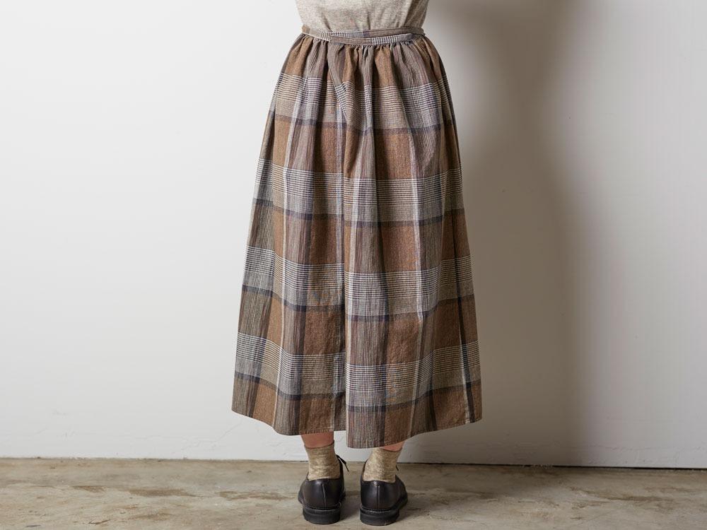 KASURI Skirt 1 Brown3