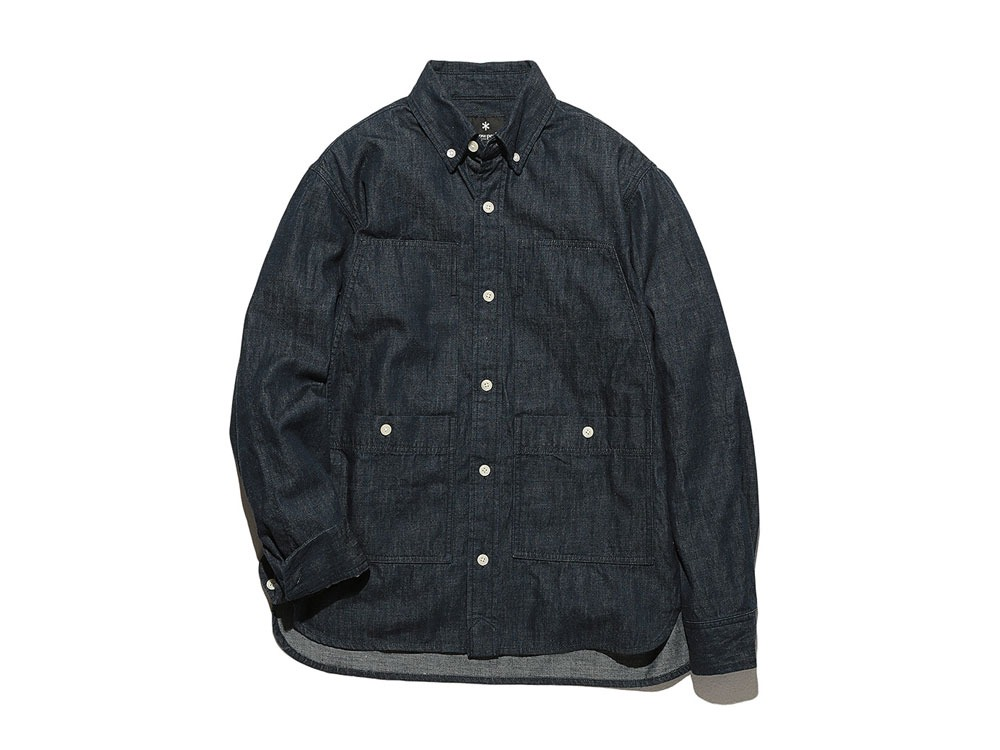 Dungaree Field Shirt  M Indigo0