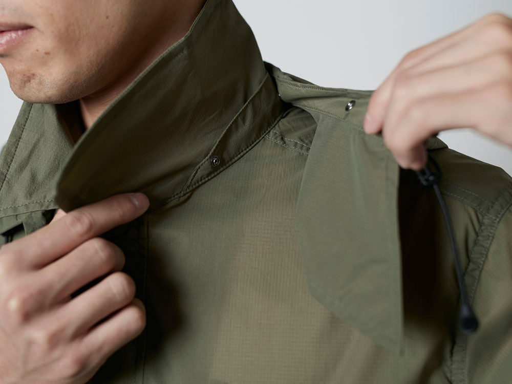 Rain&WindResistantJacket L Olive6