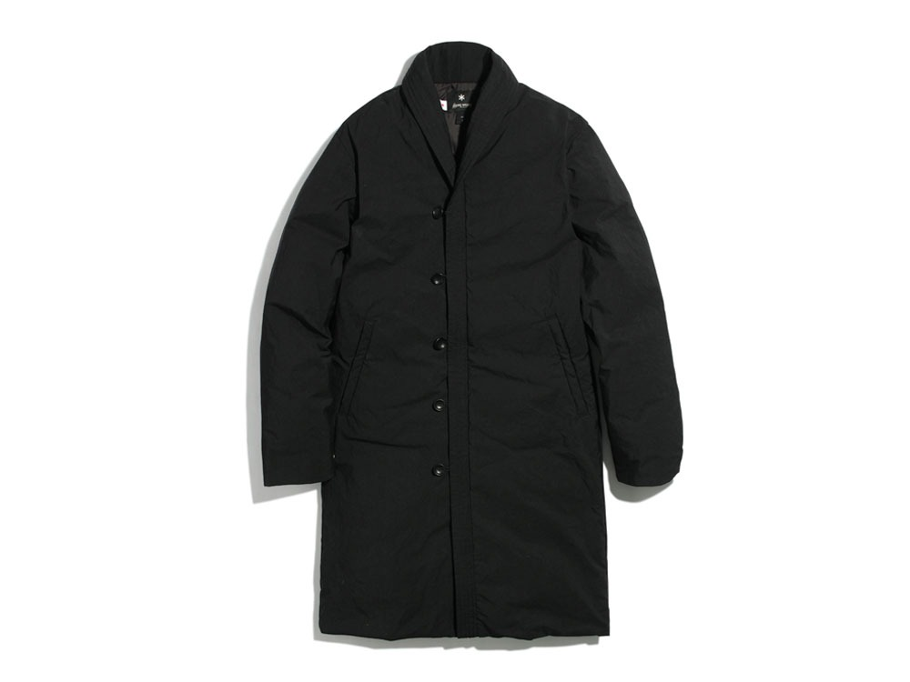 Indigo C/N Down Long Coat 1 Black0