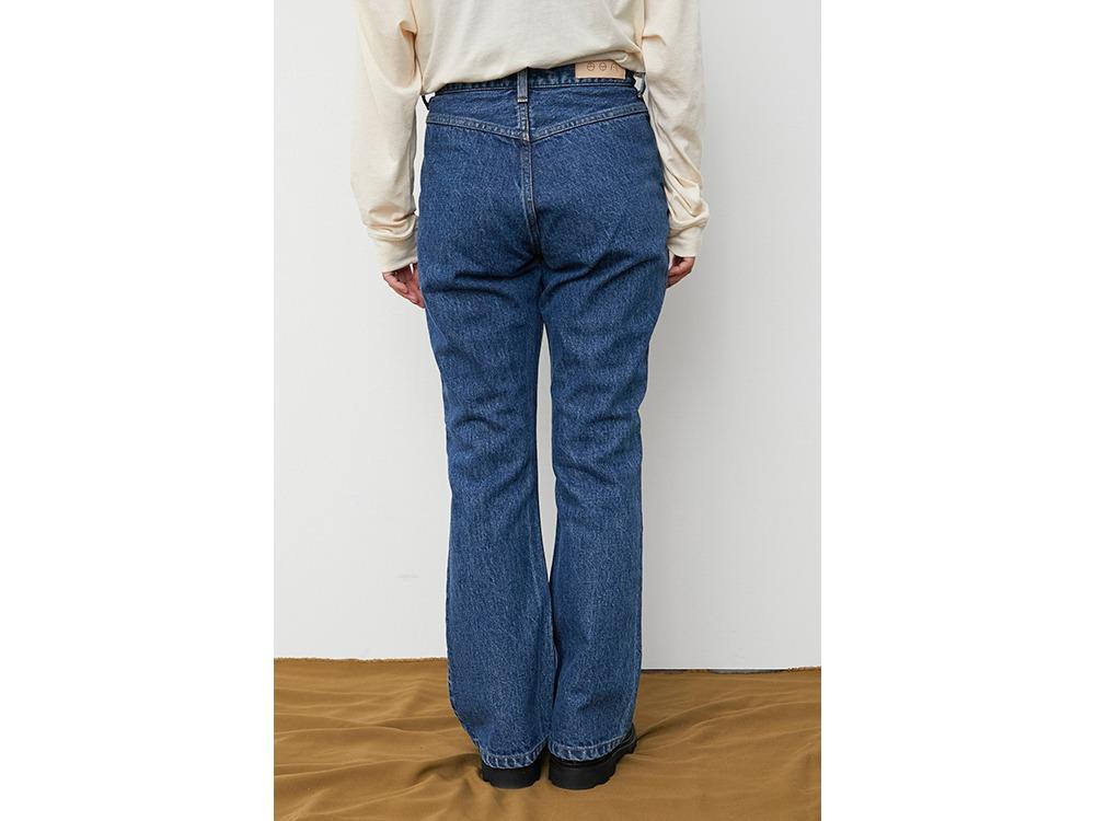 Three Pockets Jeans Flare 1 Indigo SB