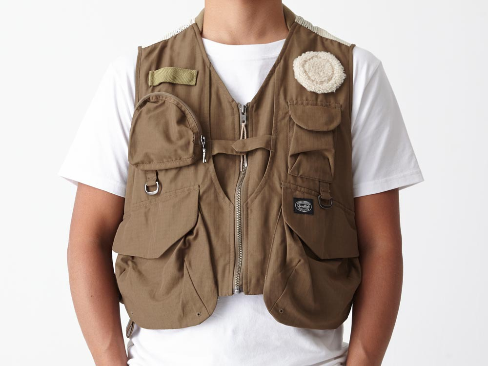 Utility Fishing Vest #2 1 Brown9