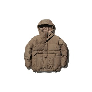 FR Down Pullover M Brown