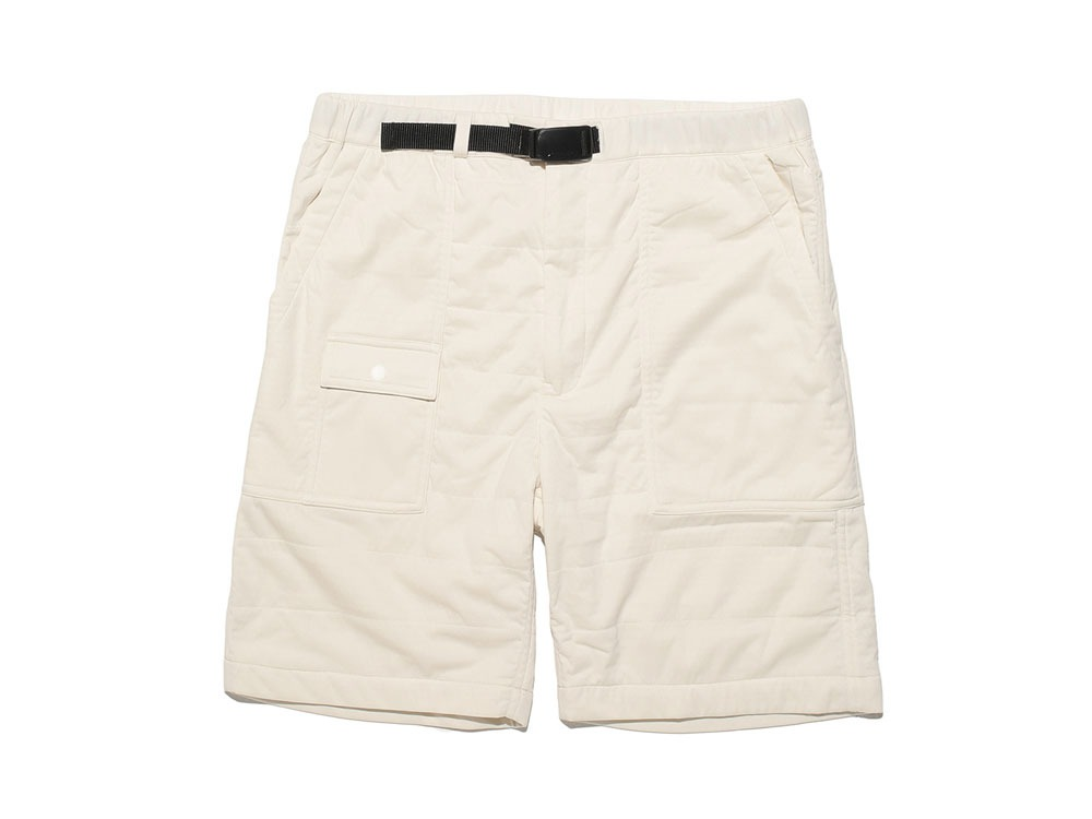 FlexibleInsulated Shorts L White0