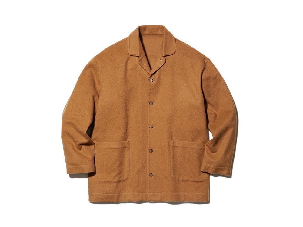 Royal alpaca Pyjamas Shirt M Camel