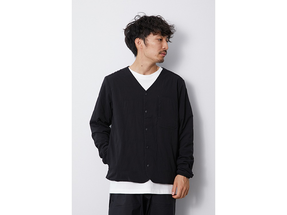 Flexible Insulated Cardigan XL Black
