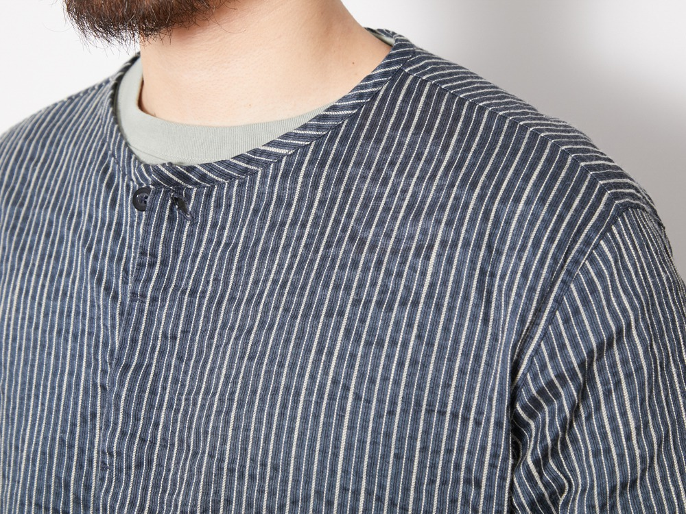 C/R Light Stripe Sleeping Shirt XL BL