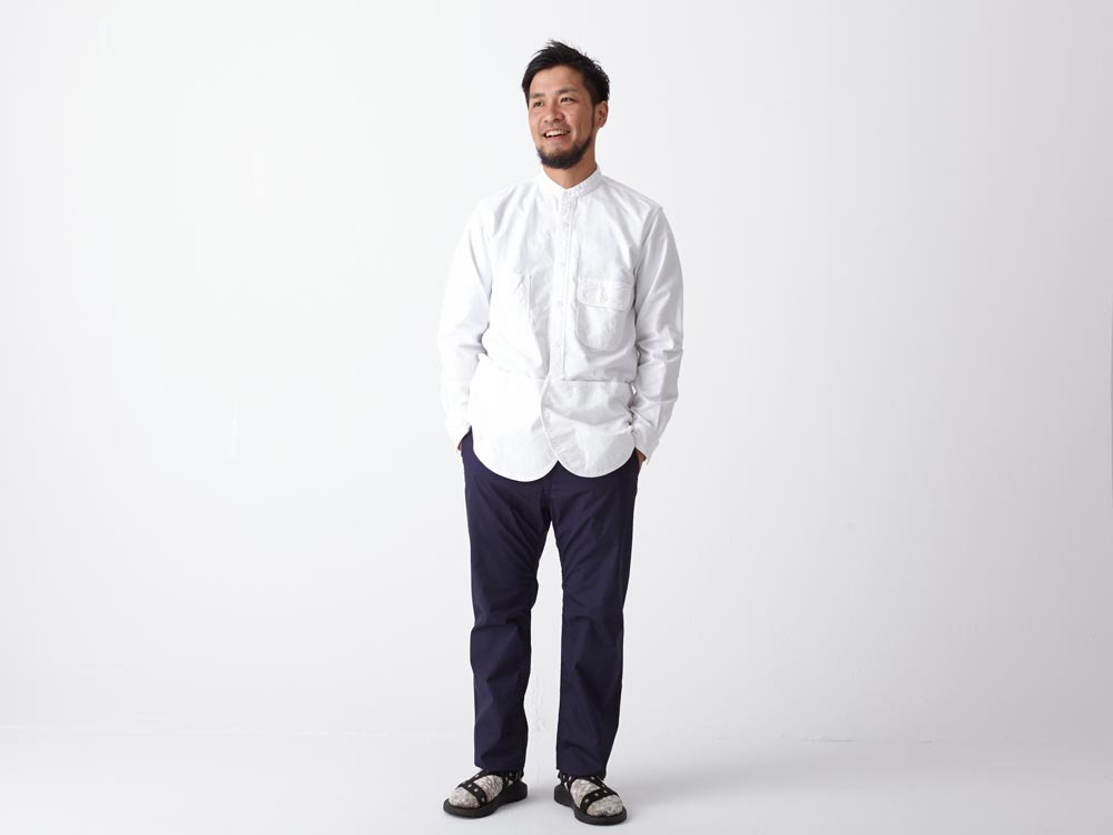 Field Utility Shirt M White2