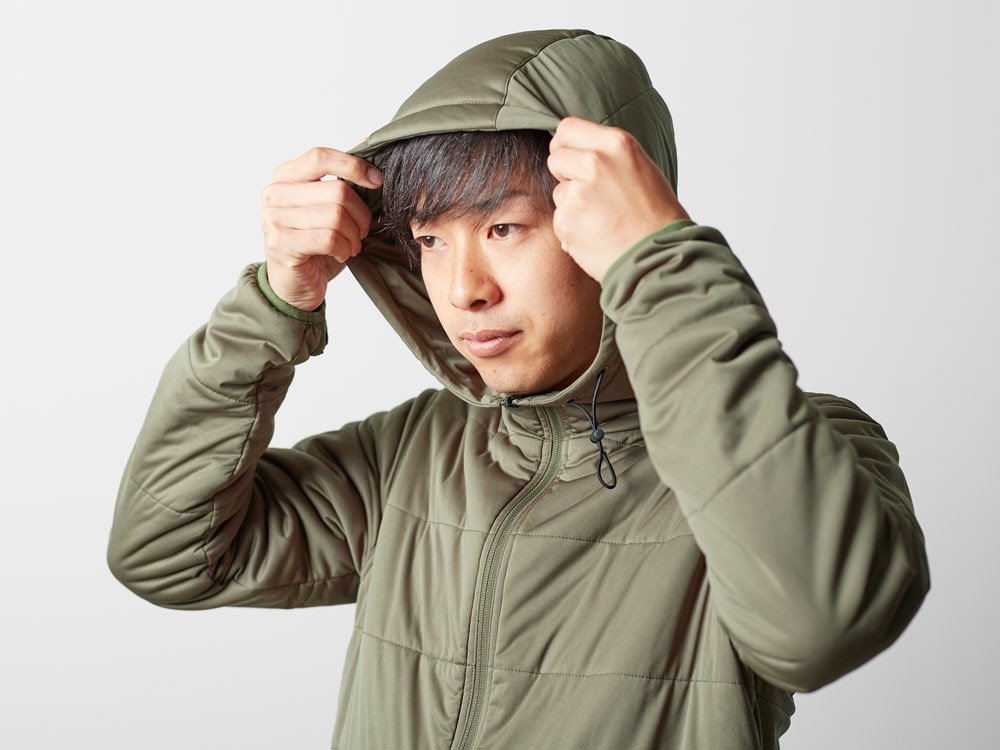 Flexible Insulated Hoodie M Olive9