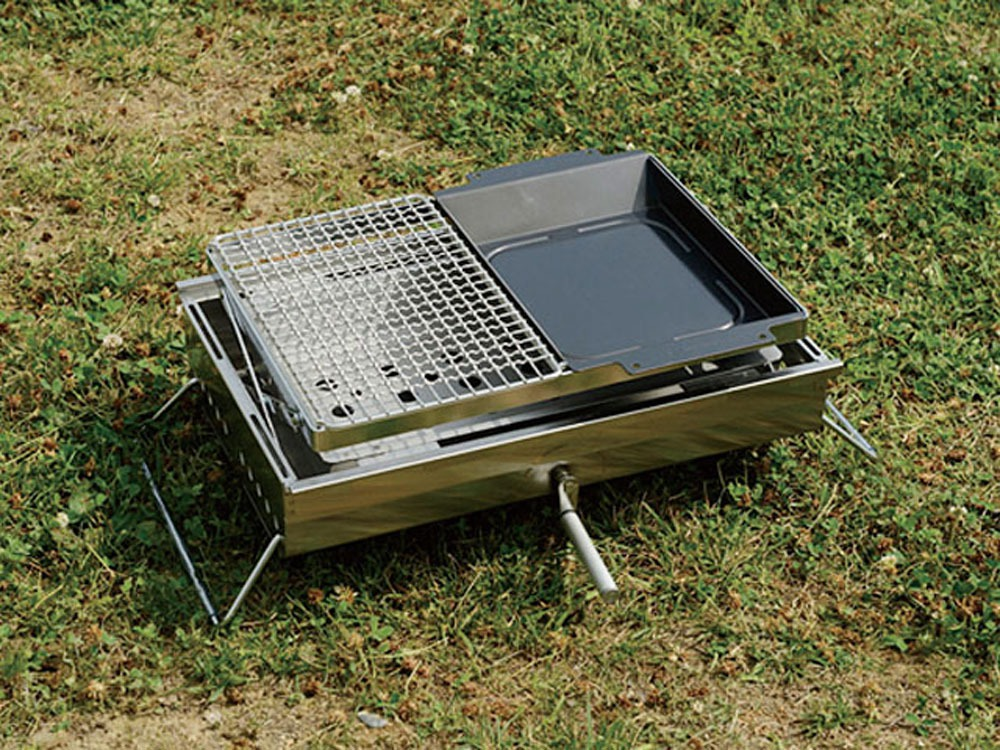 Grill Stainless Half Pro.2