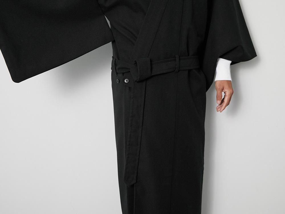 OUTDOOR KIMONO Pe Serge  XL Black