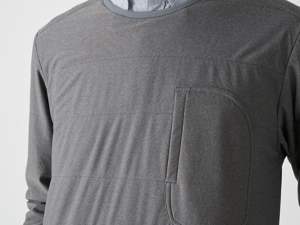 FlexibleInsulated Pullover M Grey5