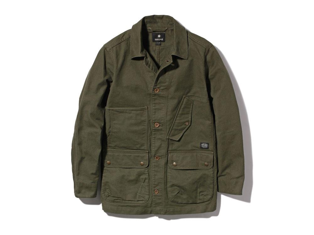 TAKIBI Coverall Jacket S Olive0