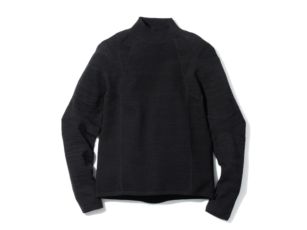 WG Stretch Knit Pullover #21Black