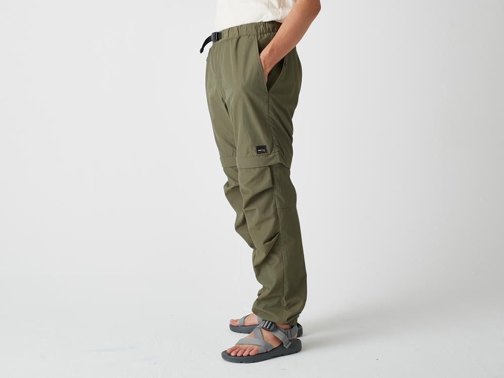 Camping 2WAY Field Pants S Brown3