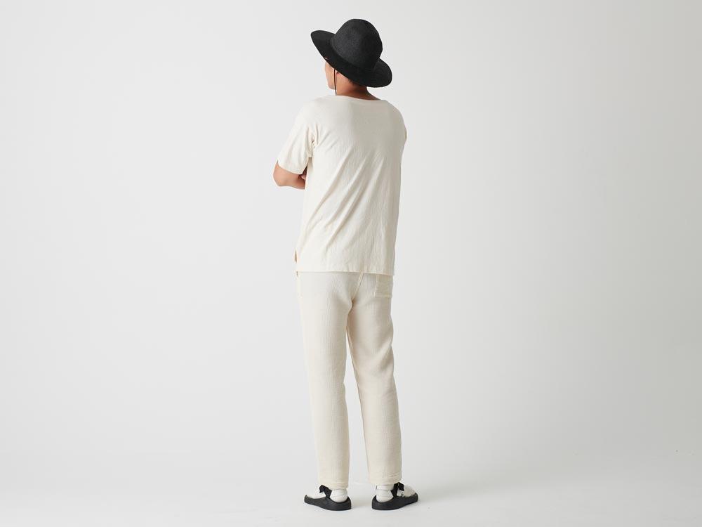 オーガニックワイドティーシャツ 1 M.グレー
