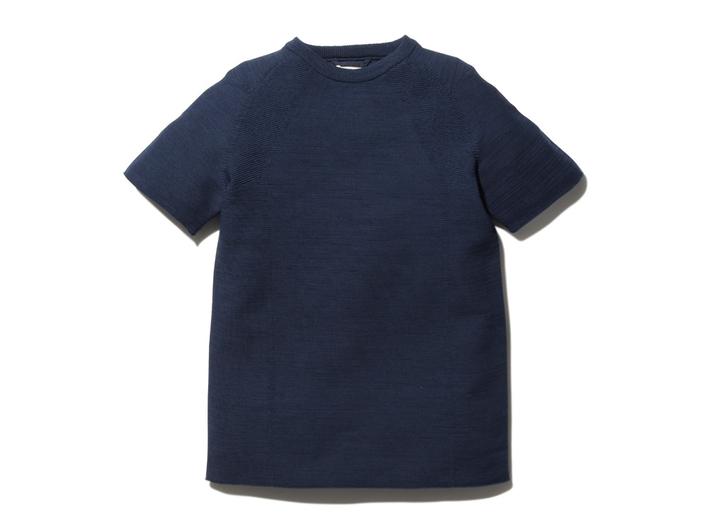 WGStretchKnitPulloverS-2 L Navy0