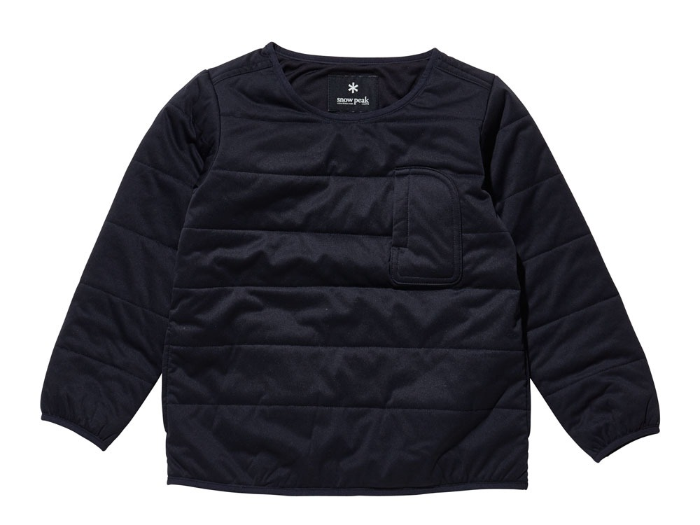 Kids Flexible Insulated Pullover 2 Black0
