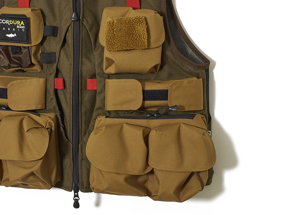 All Round Fishing Vest  S/XS Brown