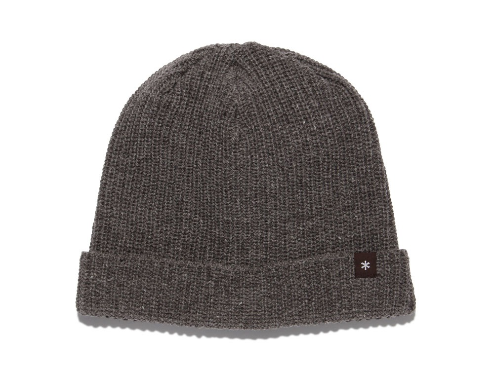 Wool Watch Cap oneBrown