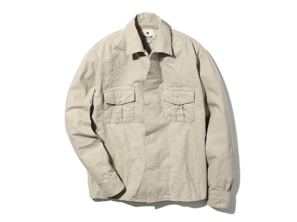 Safari Linen Shirt 2 Beige0