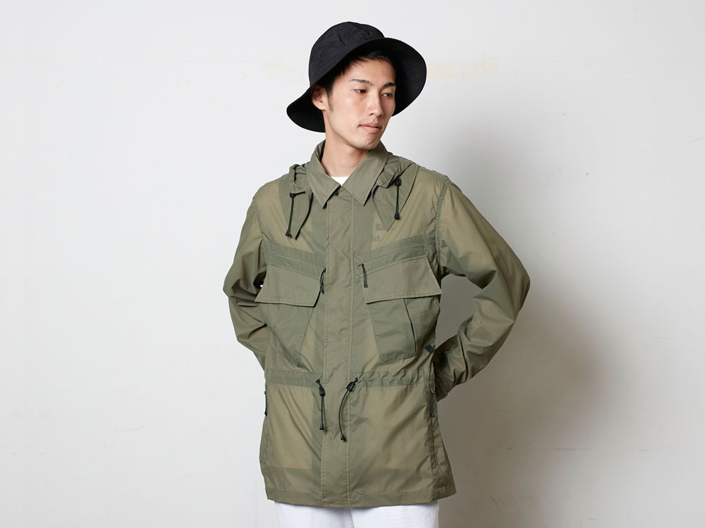 Rain&WindResistantJacket M Olive13