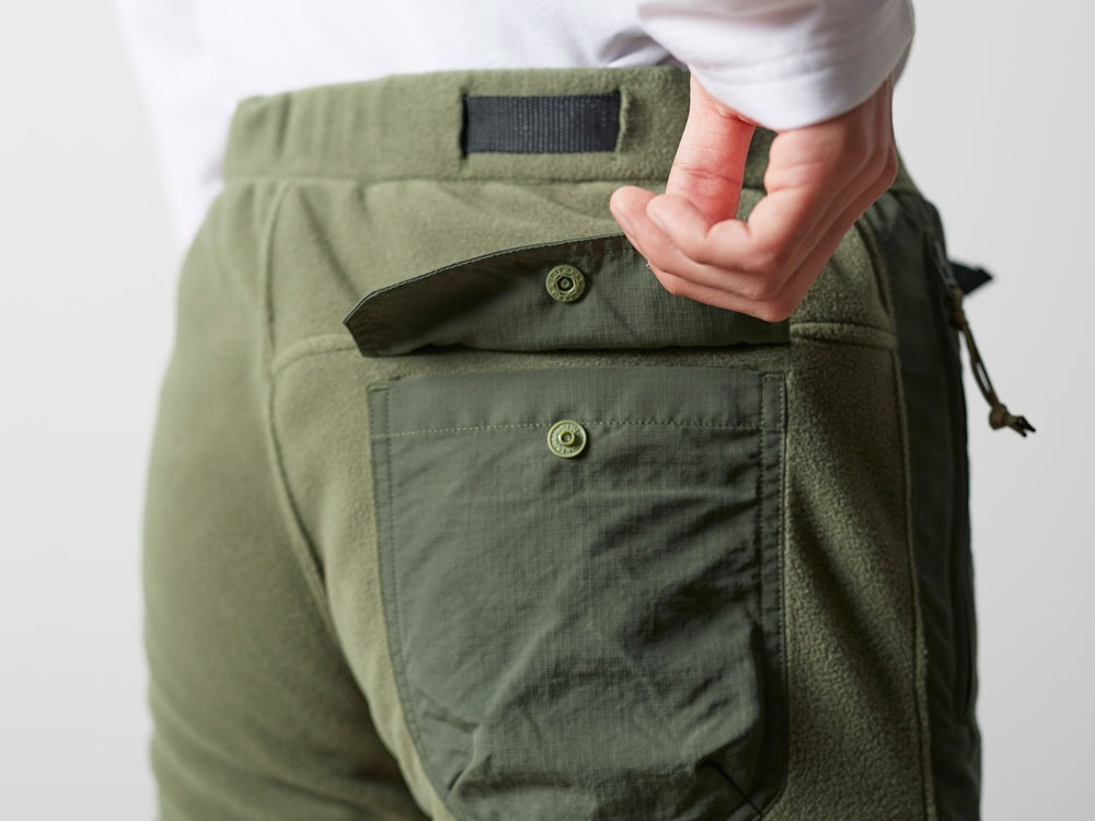 R/Pe Fleece Pants M Olive7