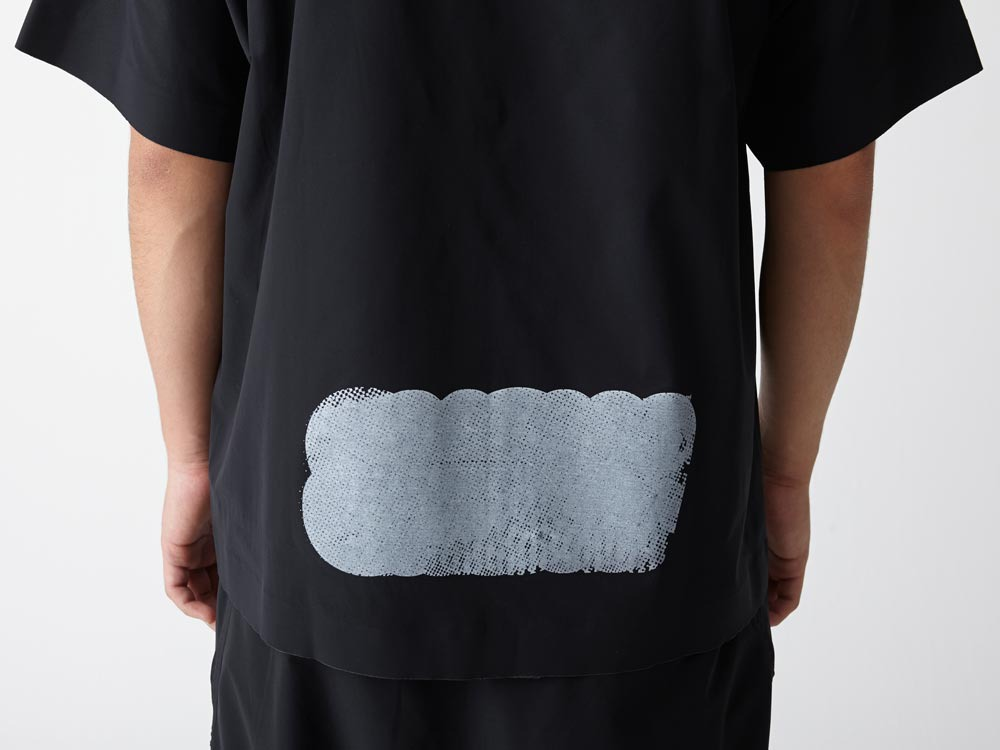 Dry&Stretch Tshirt Artwork:2 L Black6