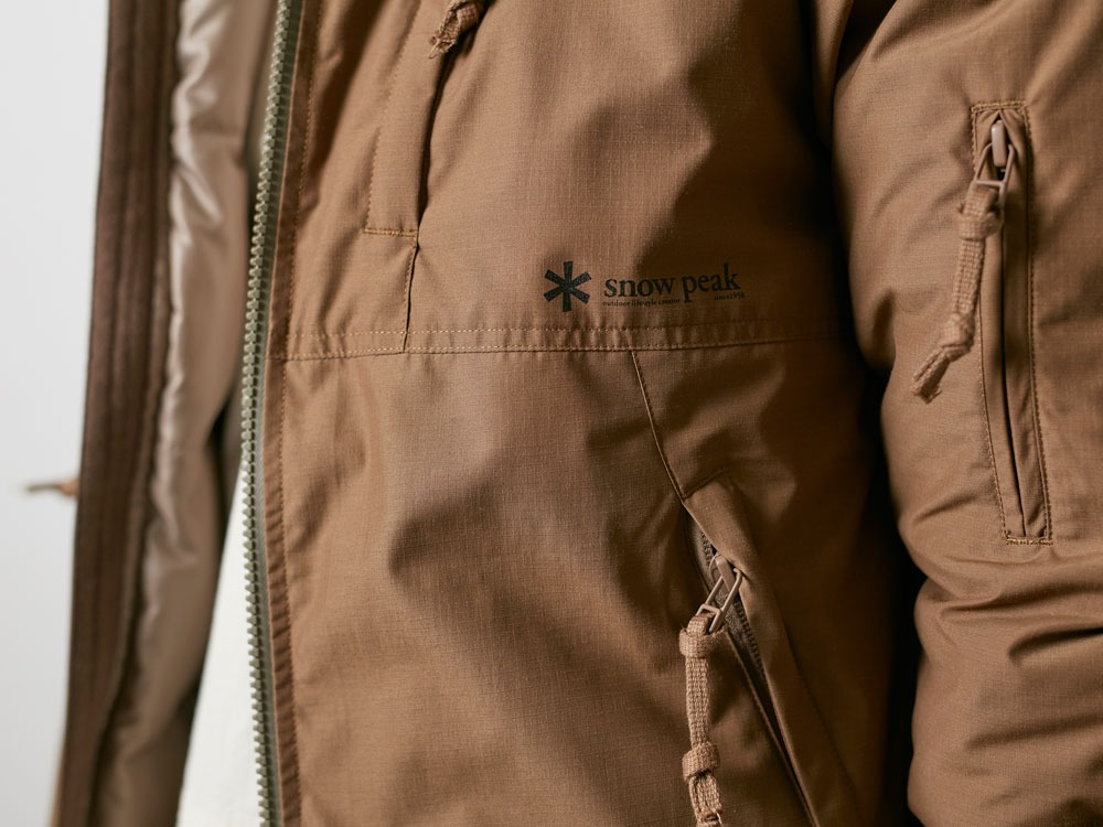 FR Down Jacket M Brown6