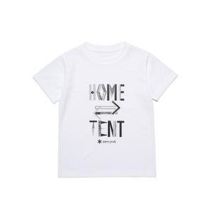 キッズホームテントプリントティーシャツ