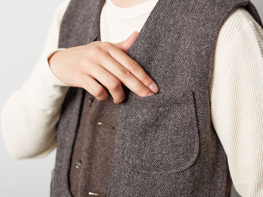 Camping Wool Vest M Grey9