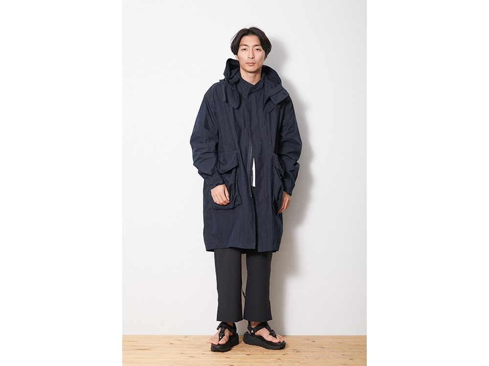 Indigo C/N Coat L Black