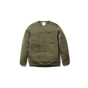 Flexible Insulated Pullover M Olive