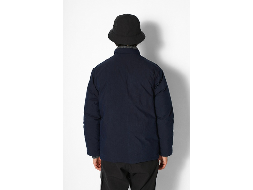 Indigo C/N Down Jacket M Black