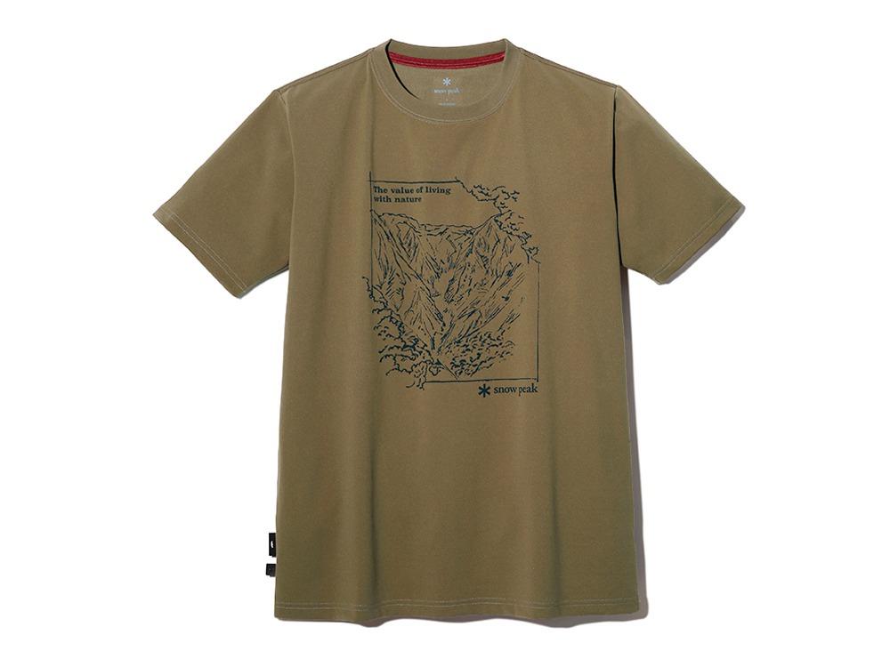 Graphic Tshirt Mt.Tanigawa L Pro.